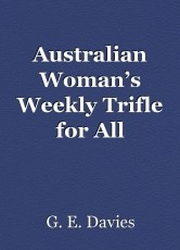 Australian Woman's Weekly Trifle for All Occasions