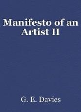 Manifesto of an Artist II