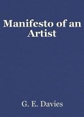 Manifesto of an Artist