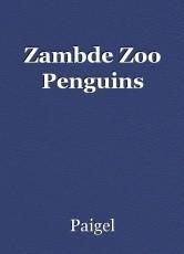 Zambde Zoo Penguins