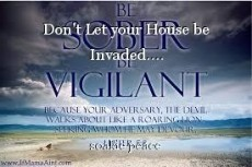 Don't Let your House be Invaded....