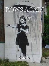 ROWS AGAIN 1957