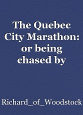The Quebec City Marathon: or being chased by Irene.