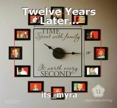 Twelve Years Later...