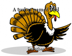 A turkey named Phil