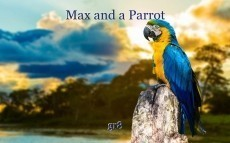 Max and a Parrot