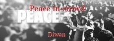 Peace in crowd
