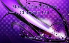 Momo's Diary Stories Character List