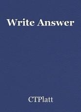 Write Answer