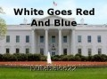 White Goes Red And Blue