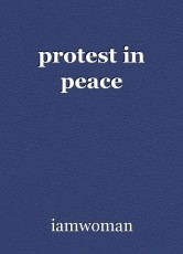 protest in peace