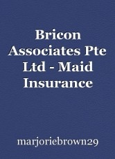 Bricon Associates Pte Ltd - Maid Insurance Singapore