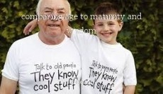 comparing age to maturity and wisdom