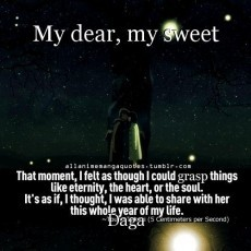My dear, my sweet