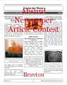 Absurd Newspaper Article Contest