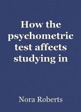 How the psychometric test affects studying in Israel than in overseas