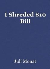 I Shreded $10 Bill