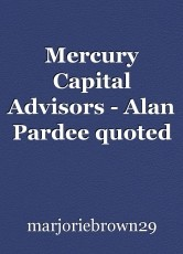 Mercury Capital Advisors - Alan Pardee quoted in Private Funds Management