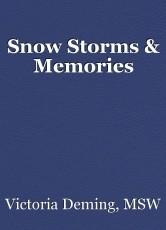 Snow Storms & Memories