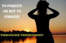 To Forgive Or Not To Forgive