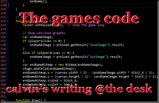 The games code