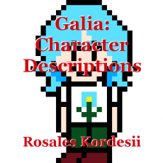 Galia: Character Descriptions