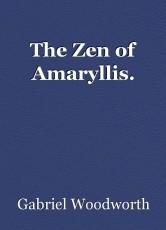 The Zen of Amaryllis.