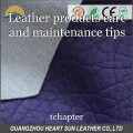 Leather products care and maintenance tips