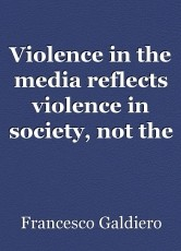 Violence in the media reflects violence in society, not the other way around.