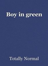Boy in green