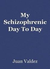 My Schizophrenic Day To Day