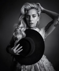 Lady Gaga in Harpers Bazaar
