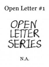 Open Letter #1