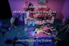 the simpsons storymationclaymation
