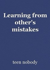 Learning from other's mistakes