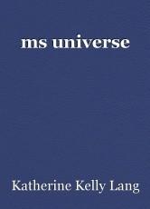 ms universe