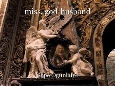 miss. god-husband