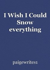 I Wish I Could Snow everything