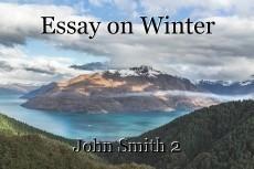 Essay on Winter