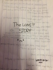 THE LONELY STORY