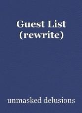 Guest List (rewrite)