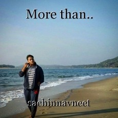More than..