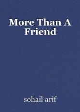 More Than A Friend