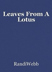 Leaves From A Lotus