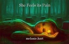 She Feels its Pain