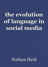 the evolution of language in social media