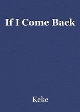 If I Come Back
