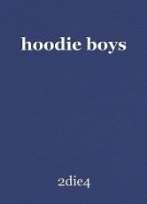 hoodie boys