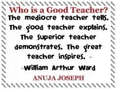 Who is a Good Teacher?