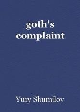 goth's complaint